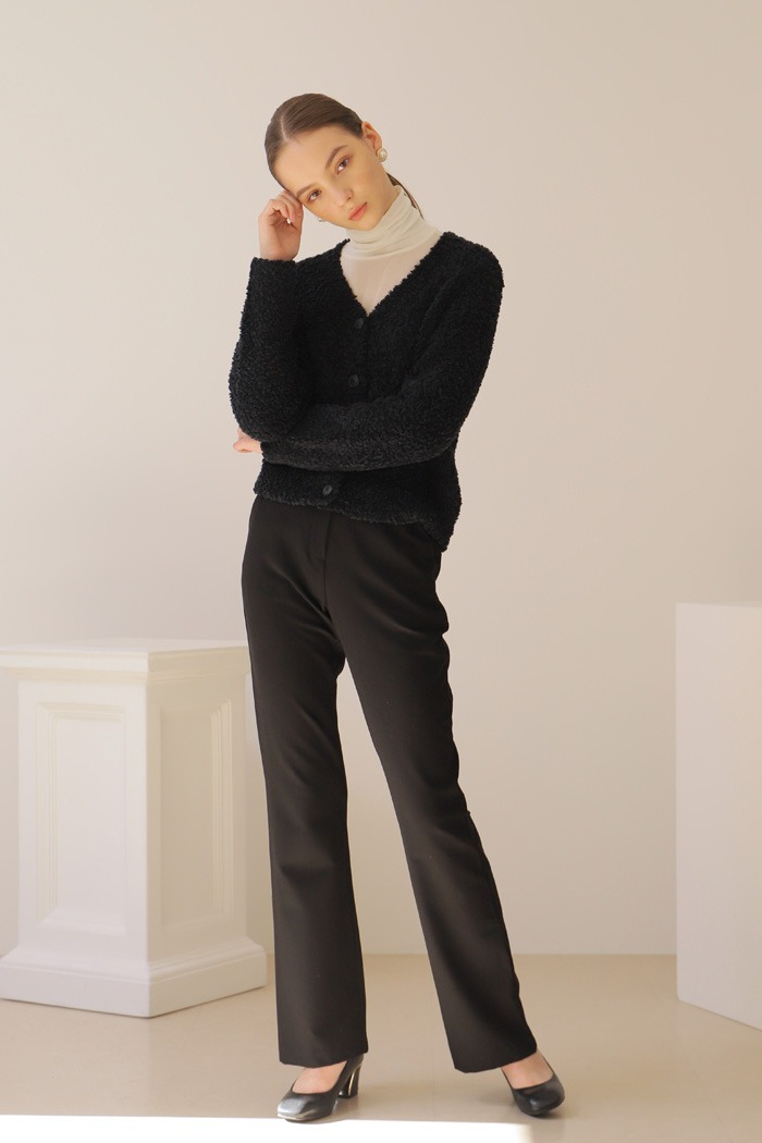 BELL BOTTOM PANTS_BLACK